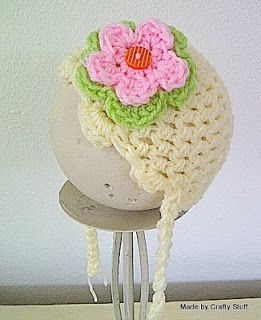 Crafty Stuff Hats and Photo Props... Made in South Africa: Baby Beanie - Cloche hat