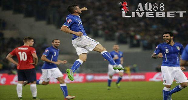 Agen Piala Eropa - Italia Kalahkan Norwegia 2-1
