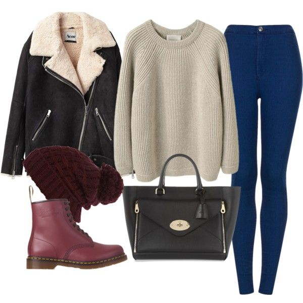 """""""inspired outfit with doc martens"""" by whathayleywore on Polyvore"""