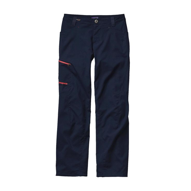 For unrestricted movement on technical routes, the Patagonia Women's RPS Rock Pants answer back. These are our lightest weight rock climbing pants.