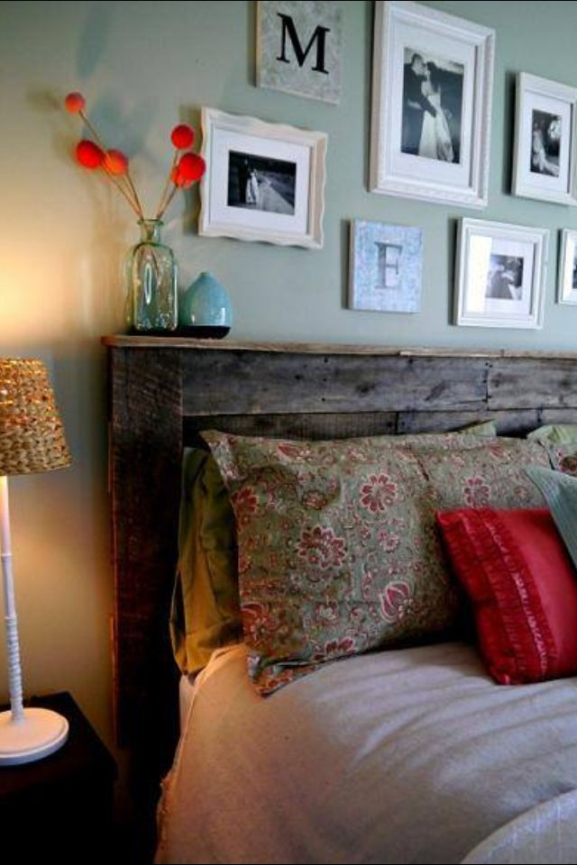 Another pallet headboard !