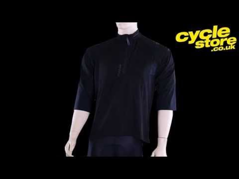 Altura Attack 3/4 Sleeve Jersey Black @ Cyclestore.co.uk