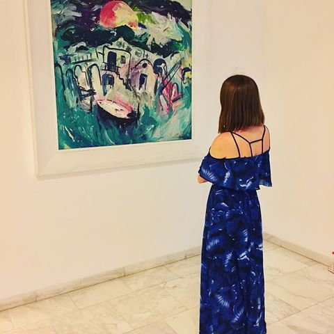 'Everything you can imagine is real.' - Pablo Picasso. Thank you @alisik_007 for the capture! #grecianbay #grecianbayhotel #cyprus #hotel #ayianapa #art #painting #design #details