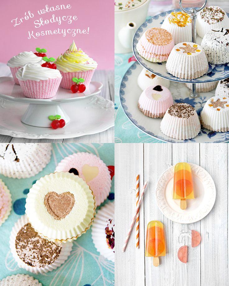 Warsztaty kosmetyki naturalnej / słodycze kosmetyczne / soapsicles / cupcake bath bombs / cosmetic sweets / recipes / natural beauty / make it / DIY
