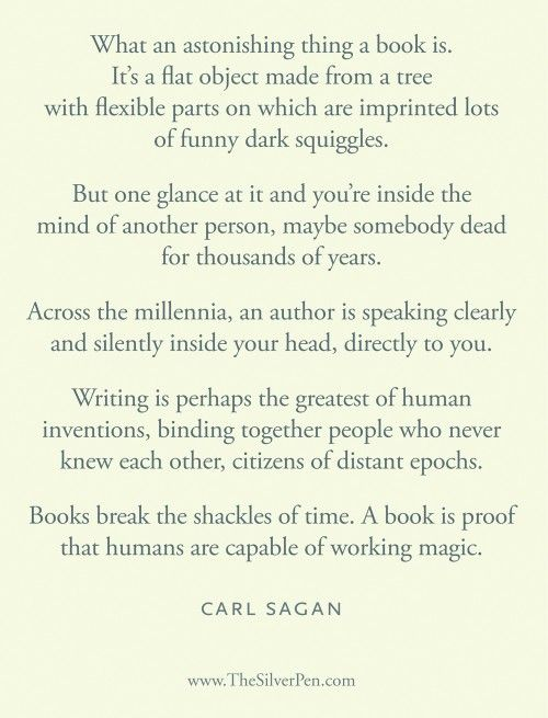 Books Are The Realist Kind Of Magic In The World. They Transport You  Through Time