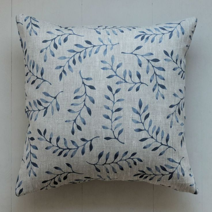 Cushion cover Gulli via Emma von Brömssen. Click on the image to see more!