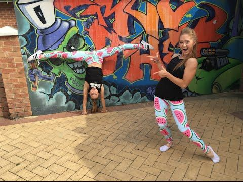 partner gymnastic tricks  the rybka twins  youtube