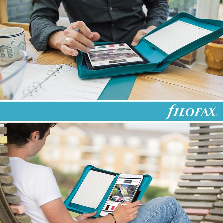 Filofax Saffiano Tablet Cases and Tablet Organisers- 2016 selection #filofax