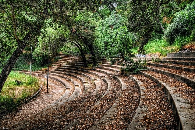 Foster Park Bowl, Ventura, California. Unused but a moving sight