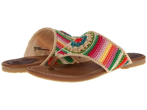Cute crochet sandals from The Sak via Beso (affiliate disclosure)
