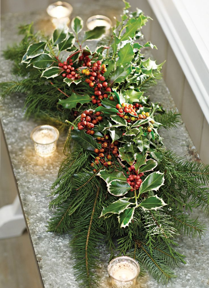 Mark the holidays with fresh greenery real holly