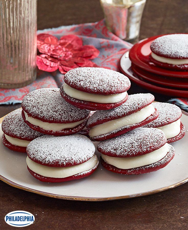 Biscuits-gâteaux Velours rouge #recette