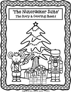 These ADORABLE and FESTIVE coloring sheets of the classic Christmas tale, The Nutcracker, will enhance your lessons in your classroom this holiday season. Your students will love coloring these pictures as they read a common version of the story, learn and discuss the importance of dance/ballet/music as a means of story telling, as well as learn about the life and times of composer Tchaikovsky in a brief bio that is provided in this packet.