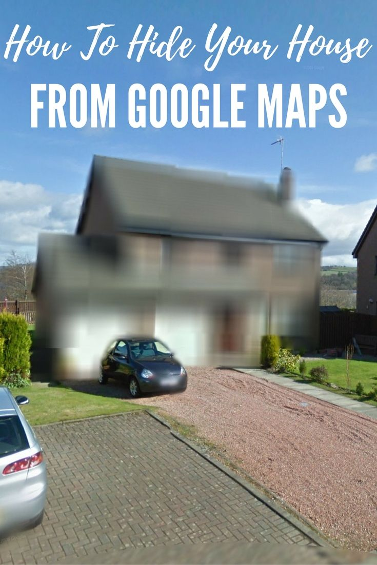 How To Hide Your House From Google Maps - If you are concerned about privacy I recommend you take this action and once reported to Google they will blur out your house like the house pictured.