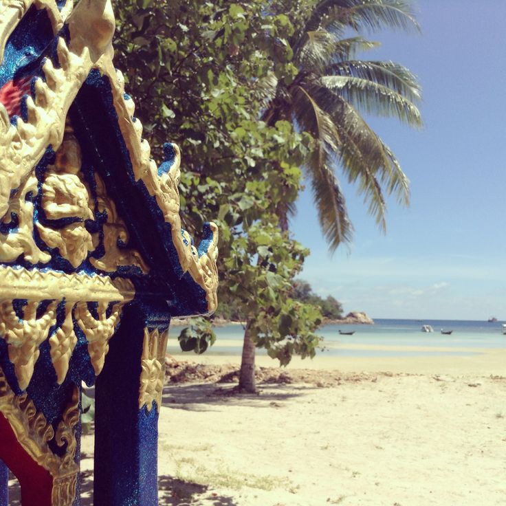 Beautiful Chang E 3: A Beautiful Thai Spirit House On Koh Phangan