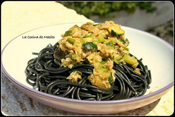 Nos encantan los espaguetis: 5 recetas de espagueti y 1 de fideos asiáticos