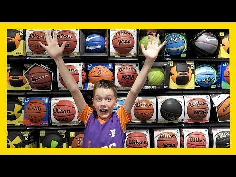 NEW BASKETBALL SHOPPING (Day 1477) - http://www.truesportsfan.com/new-basketball-shopping-day-1477/