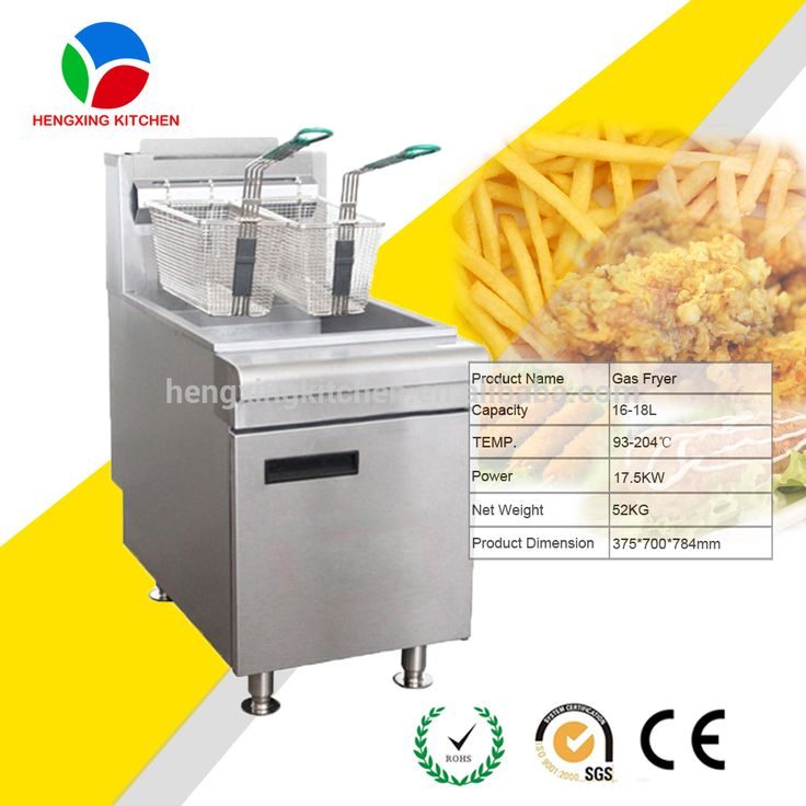 Industrial Gas Fryer/Continous Fried Chicken Deep Fryer Machine For Sale