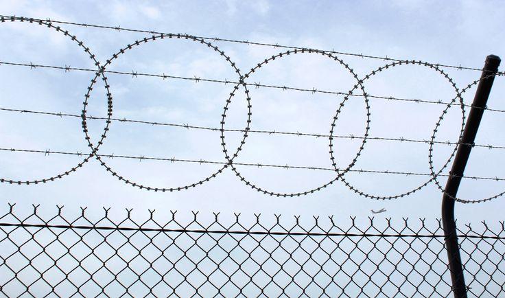 Qantas Catering Brisbane Razor Wire