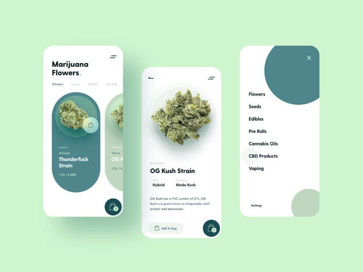 Marijuana Store Mobile App  – CLARK TECH