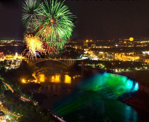 fireworks at niagara falls on july 4th