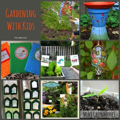 Garden Craft Ideas For Kids Photo Decorating Inspiration
