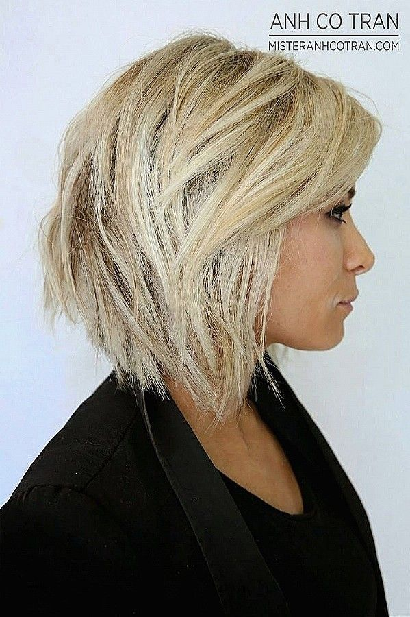 Frisuren 2018 Mittellang Frisuren Gestuft Mittellang Hair Styles Thick Hair Styles Short Layered Bob Haircuts