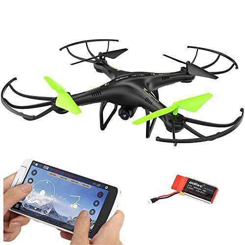 NEW FPV Drone Quadcopter 2.4 Ghz Wifi HD Camera Alitude Hold One Button Take Off #DAZHONG
