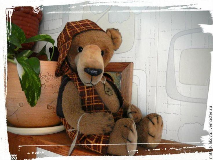 Купить Выкройка мишки тедди Шерлок (Топтыжка) большой - выкройка мишки Тедди, выкройка тедди мишки