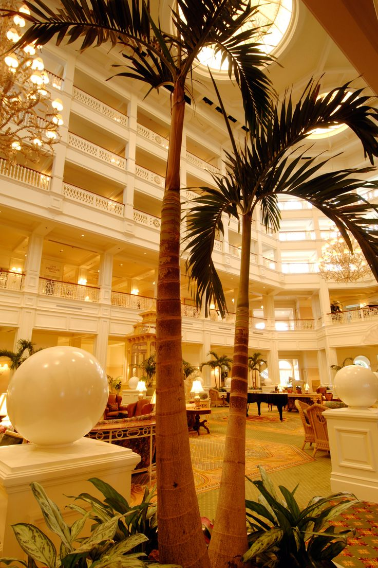 Disney Resort Hotels, Disney's Grand Floridian Resort & Spa - The Lobby, Walt Disney World Resort