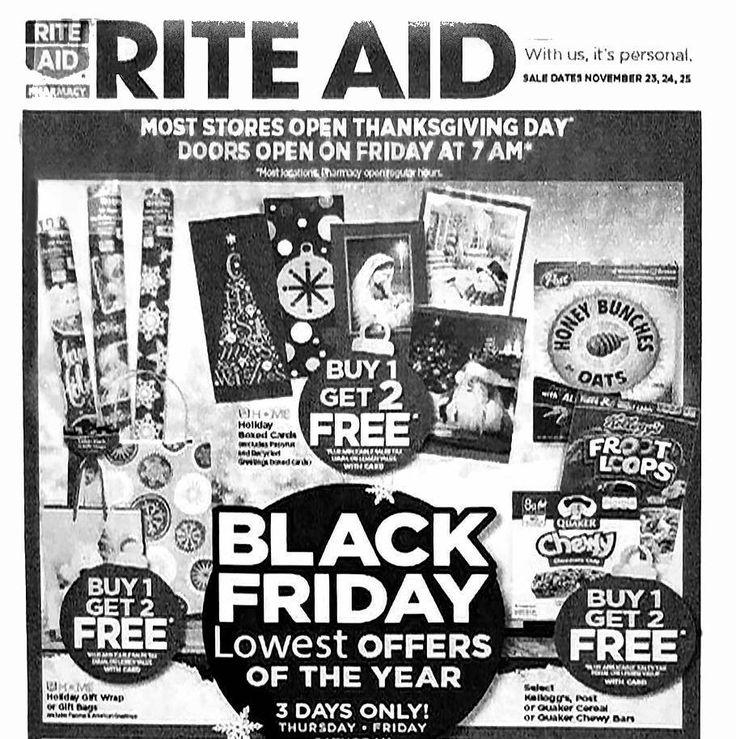 Rite Aid Black Friday 2017 Ad - http://www.olcatalog.com/pharmacy/rite-aid-black-friday.html