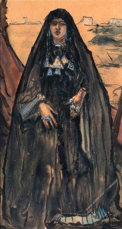 Femme noble du Hoggar von Paul Elie Dubois
