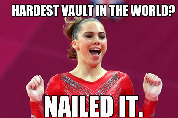 hahaha. Hardest vault in the world? Nailed it. McKayla Maroney m.15.53 moved from @Kythoni McKayla Maroney board http://pinterest.com/kythoni/mckayla-maroney/ #KyFun