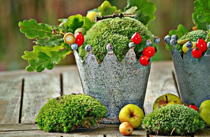 Ősz, Őszi Dekoráció, Díszítés, Gyümölcsök, Hálaadás