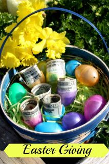 9 best made by muah images on pinterest cash gifts confetti easter giving easter egging someones house negle Choice Image