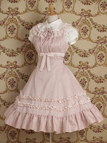 Alice-In-Wonderland-Pretty-Beautiful-Sweet-Vintage-Lolita-Costume-New-Cute-Dress