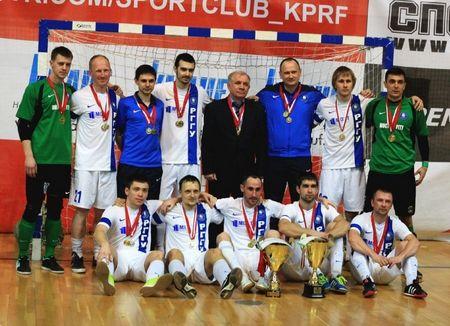 Футбольная команда Мост-11-РГГУ одержала 3 победы подряд - Сайт города Домодедово