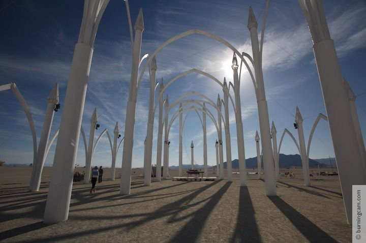 Burning Man 2006 - Conexus Cathedral © 1998-2007 NK Guy