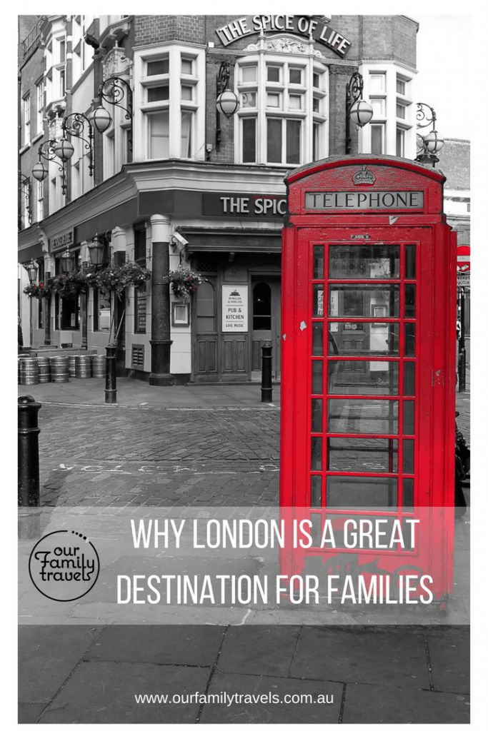 Why London is a great destination for families