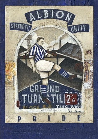 """""""The Book Of Albion"""" - West Bromwich Albion programme covers"""
