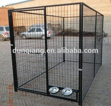 Source welded mesh style big metal dog kennel on m.alibaba.com