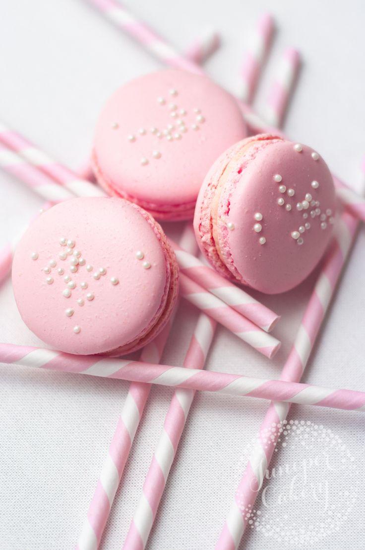 Pink Lemonade macarons (Like the wombats song)