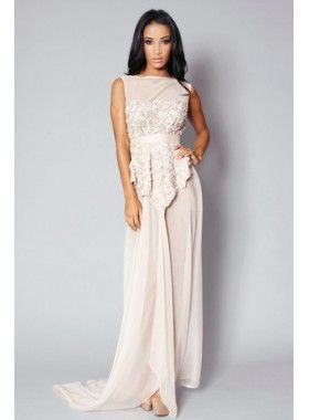 Fall in Love Fashion Blush Petal Gown. Buy @ http://thehubmarketplace.com/Blush-Petal-Gown