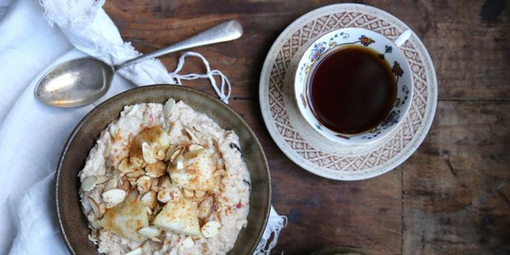 Recipe: Spiced Feijoa and Apple Brown Rice Bircher - Petite Kitchen's Eleanor Ozich shares her recipe for spiced feijoa and apple brown rice bircher