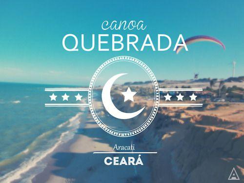 Canoa Quebrada - Aracati, Ceará. Brasil