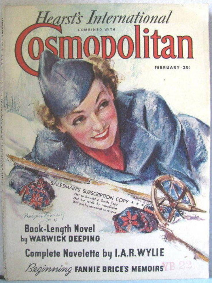 Cosmopolitan magazine, FEBRUARY 1936 Artist: Bradshaw Crandell