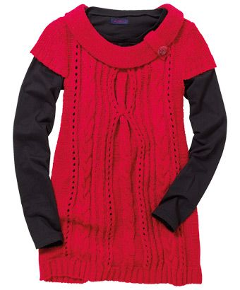LK212 - Lovely Layering Knit  - LOVE this!