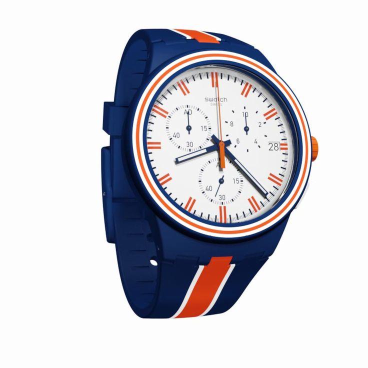 Nuevos modelos de Swatch disponibles en nuestra sección de novedades http://www.todo-relojes.com/marca.asp?modelo=871&marca=78 Os dejamos con un diseño de caballero de resina con una bonita combinación en azul y naranja como sugerencia para el #DiadelPadre #relojesSwatch #todorelojes