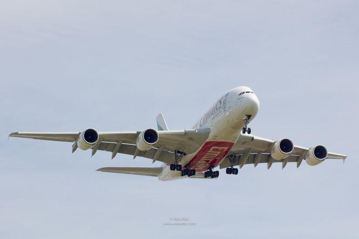 A380 Emirates Barcelona landing by Alex Edo on 500px