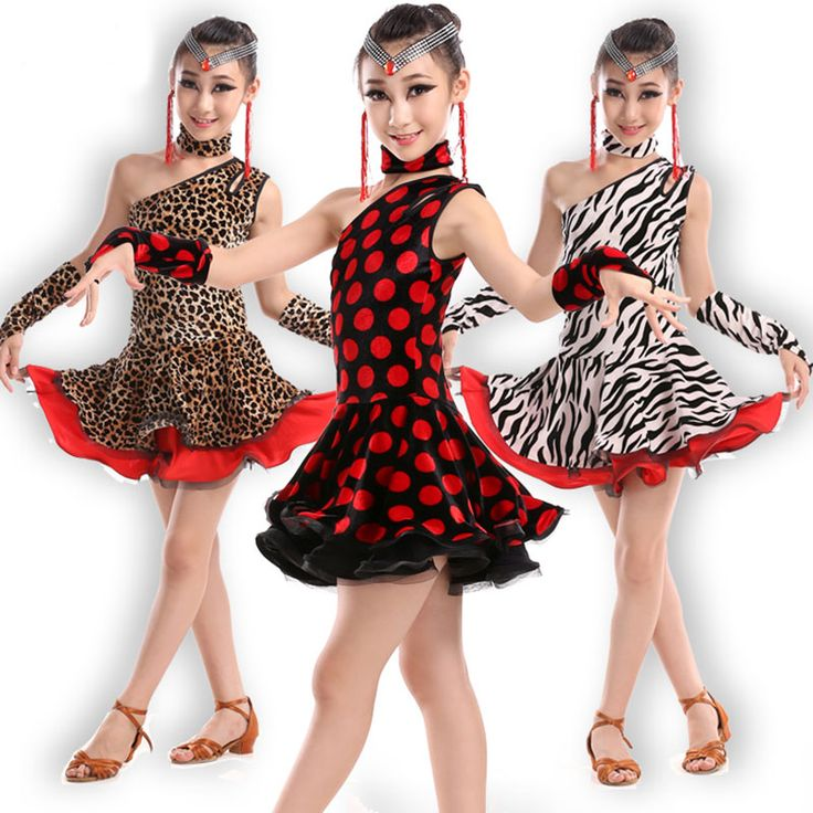Красный Черный Латинский Танец Dress Для Девушки Самба Dress Бальные Дети Танцы Dress Девушки Танцевальная Одежда Балета Baile Латино Девушки купить на AliExpress